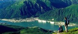 Pareja en Juneau