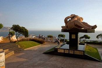 Parque de los Enamorados en Lima